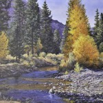 "Gold Country - 18"" x 24"" - Oil on Canvas - Barbara Conley"