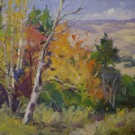 Guido Frick-Fall In High Country-Oil-24x30