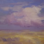 Guido Frick-Buffalo Nat'l. Grassland, NE-Oil-9x12
