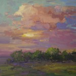 Guide Frick-Evening In The West-Oil-24x24