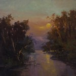 Guido Frick-River of the Mountain Man-Oil-36x40