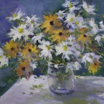 Guido Frick-Daises and Black-Eyed Susan-Oil-20x24