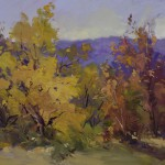 Guido Frick-Golden October-Oil-24x30