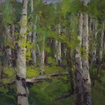 Guido Frick-Aspens In High Country-Oil-36x48