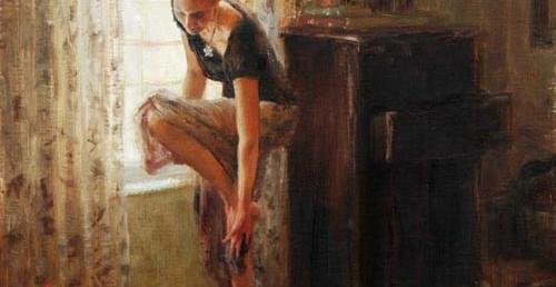 """Afternoon - 20"""" x 16"""" - Oil - Trent Gudmundsen"""
