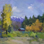 Guido Frick - Fall in Sun Valley  - Oil - 24 x 30