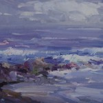 Guido Frick - Incoming Tide - Oil - 12 x 24