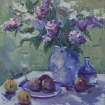 Guido Frick - Lilacs - Oil - 36 x 30