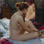 "Bryce Cameron Liston - Solitude's Echo - Oil - 18"" x 24"""