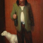 """""""Study for Cheap Russian Vodka"""" - 10"""" x 8"""" - Oil - Richard Lithgow"""
