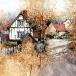 "Ian Ramsay - Cupstone, Leicestershire - Watercolor - 10"" x 14"""
