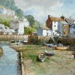 "Ian Ramsay - Palperro-Cornwall - Watercolor - 19"" x 25"""