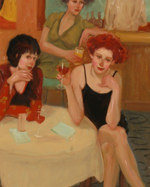 "Linda Kyser Smith - Carpe Diem - Oil - 29"" x 19"""