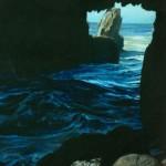 "Tunnel Rock, Big Sur - 19.5"" x 16.5"" - Pastel - DeWitt Whistler Jayne"