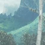 """Bali Hai Moorea - 13"""" x 19.5"""" - Pastel - DeWitt Whistler Jayne"""