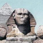 "Sphinx - 16"" x 17"" - Pastel - DeWitt Whistler Jayne"