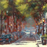 "Summer Light - 11"" x 14""- Oil - Hye Seong Yoon"