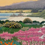 """March Carmel"" - 22"" x 30"" - Reduction Woodcut Print - Gordon Mortensen"