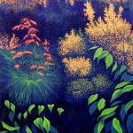 """Natick""- 40"" x 29"" - Reduction Woodcut Print - Gordon Mortensen"