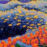 """Paint Brush"" - 18"" x 12"" - Reduction Woodcut Print - Gordon Mortensen"
