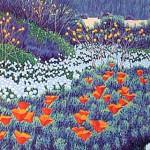 """May Flowers"" - 10"" x 8"" - Woodcut Print - Gordon Mortensen"