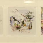 """Monterey/Carmel Vignette - 10"""" x 24"""" - Dorothy Spangler"""