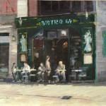 "Bistro 64 - 16"" x 20"" - Oil on Canvas - Philippe Gandiol"