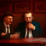 """Black Monday"" - 16"" x 20"" - Oil - Richard Lithgow"
