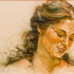 """Acceptance Portrait - 12"""" X 24"""" - Oil - Karen Holt"""