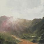 """Carmel Sunrise - 8"""" x 10"""" - Oil - Jason Sacran"""