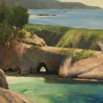 "China Cove - 30"" x 40"" - Oil - Jason Sacran"