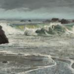 "Passing Rain - 12"" x 16"" - Oil - Jason Sacran"