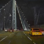 "New Bay Bridge - 12"" x 16"" - Oil on Canvas - Nancy Crookston"