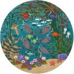 Otter Garden - 80/80 - Oil on Canvas - Merry Kohn Buvia