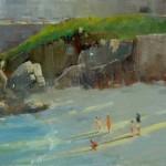 "Light Slivers - 9"" x 12"" - Oil on Canvas - Philippe Gandiol"