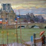 "The Humming - 11"" x 14"" - Oil on Canvas - Aleksander Titovets"