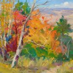 "Fall in High Country - 24"" x 30"" - Oil in Canvas - Guido Frick"