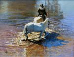 "Going Home -- 16"" x 20"" - Oil on Canvas - Robert Hagan"