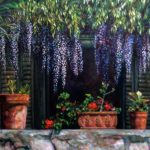 "Shades Wisteria 24"" x 20"" - Oil on Canvas - Karen Holt"