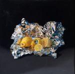 "The Surprise Inside - 20"" x 20"" - Oil on Canvas - Jesus Navarro"
