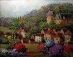 "Bramonte France - 24"" x 30"" - Scott Wallis"