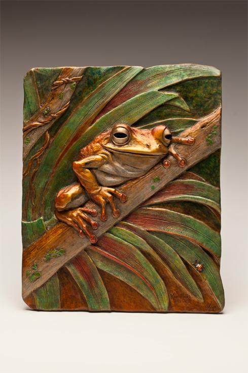 Eyes of the Rainforest - Bronze - Kim Kori