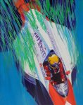 "Senna - 28"" x 22"" - Acrylic - Niles Nakaoka"