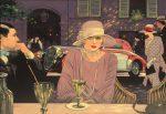 "Delahaye in Paris - 28"" x 36"" - Oil on Canvas - Barry Rowe"