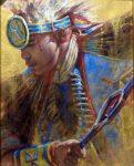 The Warrior- 8x10 - Oil on Canvas - Graeme Hagan