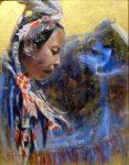 Wisdom - 8x10 - Oil on Canvas - Graeme Hagan