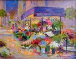 "San Francisco ""Nite Life"" - 11"" x 14"" - Oil on Canvas - Dorothy Spangler"