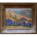 "Hills near Livermore - 16"" x 20"" - Acrylic - Jack Cassinetto"
