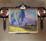 "Eucalyptus in Navato - 16"" x 20"" - Acrylic - Jack Cassinetto"