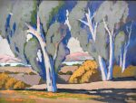 "Eucalyptus by the Bay - 18"" x 24"" - Acrylic - Jack Cassinetto"